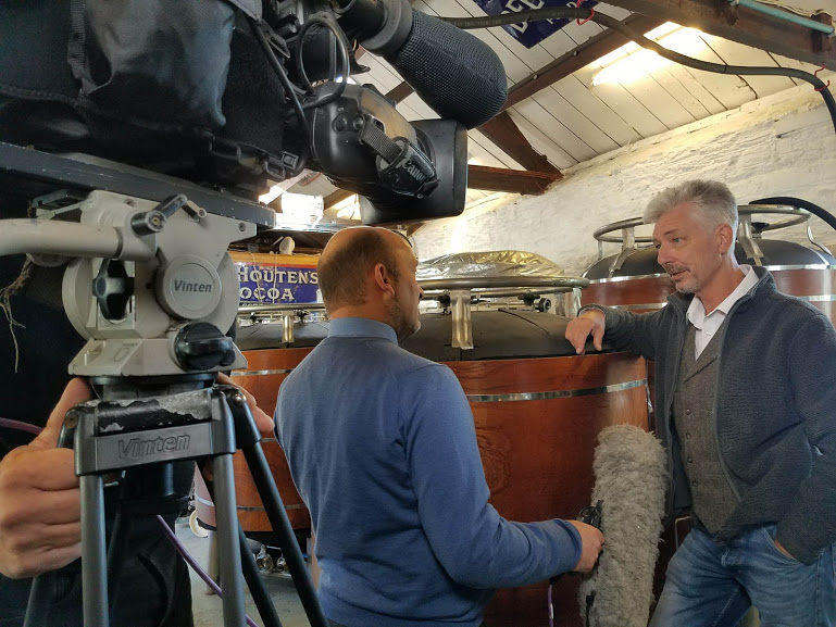 BBC Spotlight films Champion Beer!