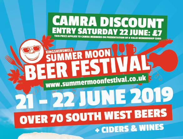 Barnaby's beers on cask at Summer Moon Festival