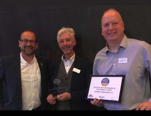 Barnaby's wins Environmental Sustainability Award