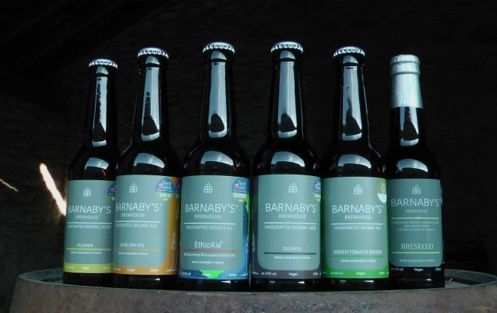 Barnaby's Brewhouse Premium Lagers and Ales
